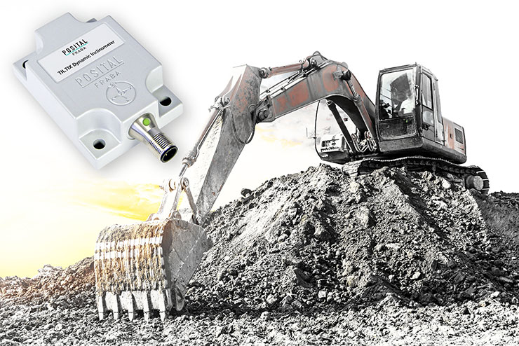 TILTIX inclinometers with dynamic load compensation deliver accurate measurement under the harshest operating conditions, including rapid motions, shock and vibration loadings.