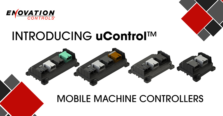 Enovation controls UControl mobile machine controllers